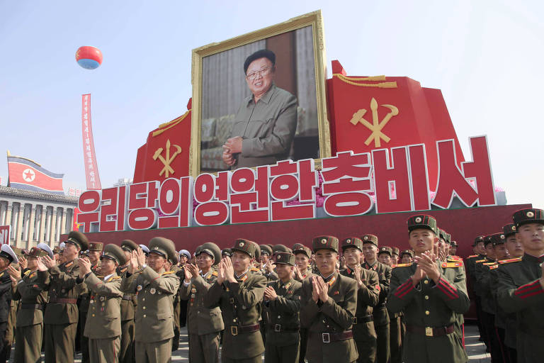 Ditador norte-coreano promove a irmã