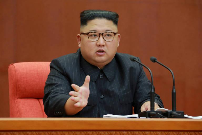 Ditador norte-coreano promove a irm�