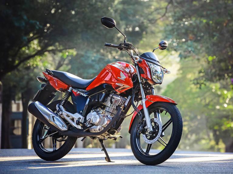 Honda CG, a moto mais vendida do Brasil