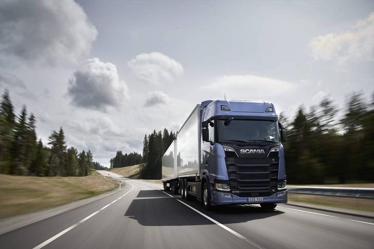 Fábrica sueca é a quarta colocada na venda de caminhões no Brasil
