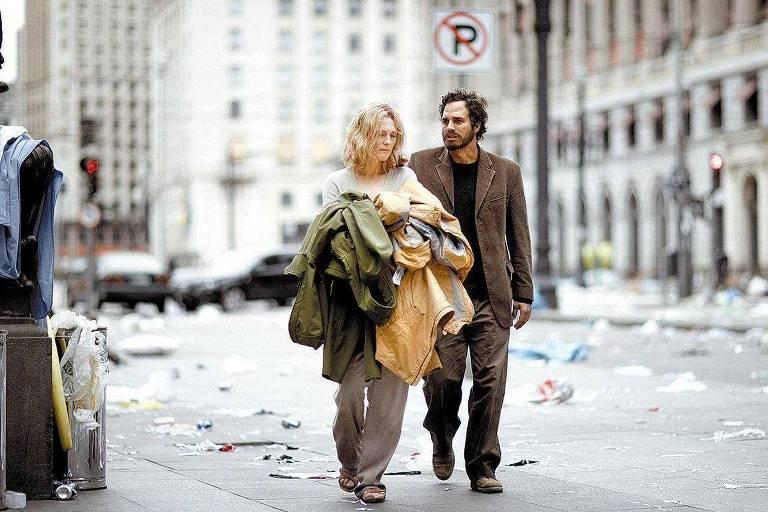 Os atores Juliane Moore e Mark Ruffalo em cena de