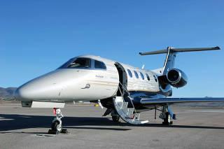 The new Embraer Phenom 300E corporate jet