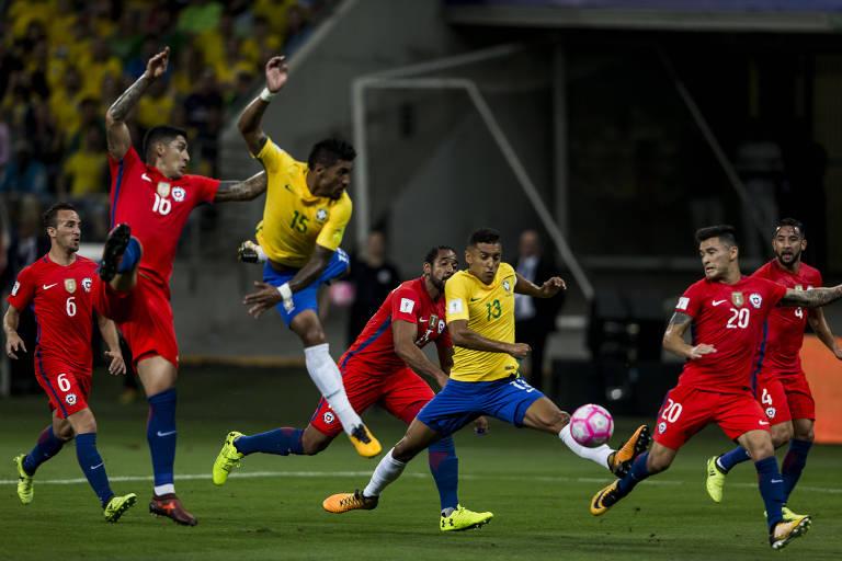 Brasil x Chile