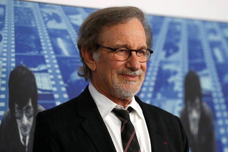 O diretor e produtor Steven Spielberg