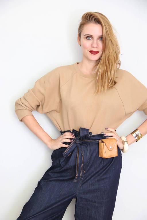 A blogueira Joanna Moura, 33