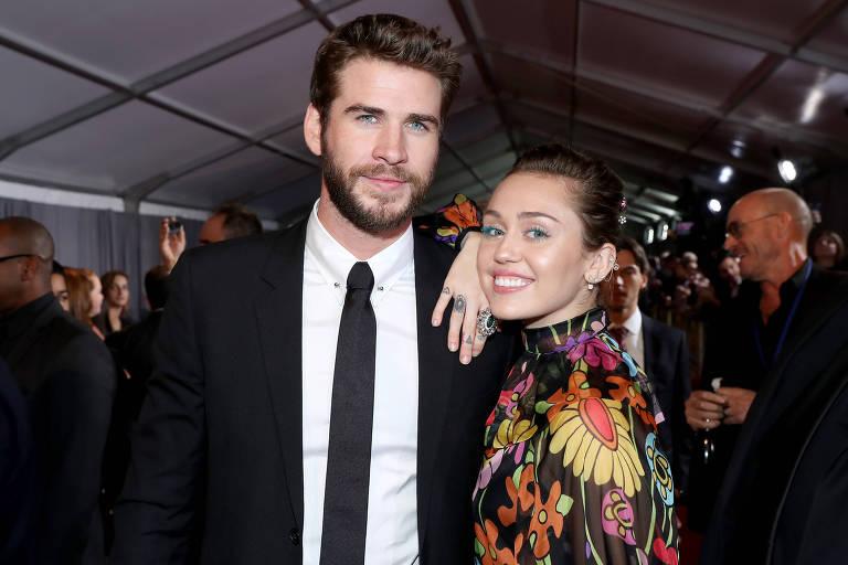 Miley Cyrus e Liam Hemsworth