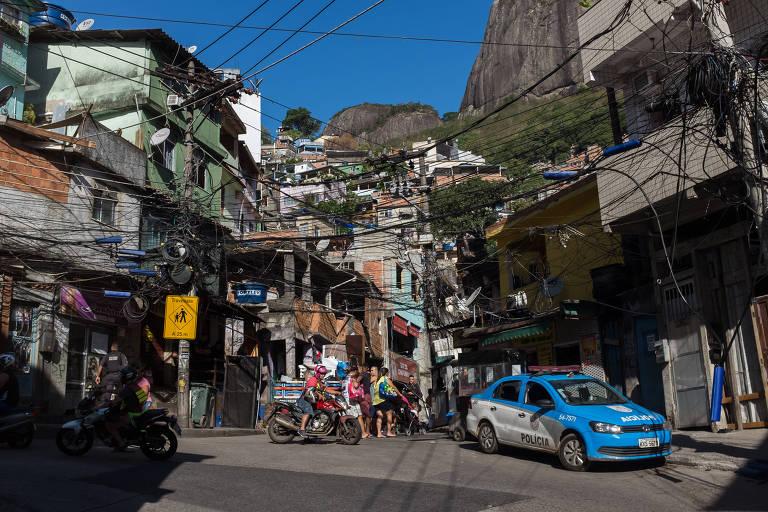 Turismo na favela da Rocinha, no Rio