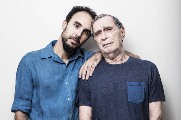 Os músicos Jorge Mautner e Bem Gil fazem show na Casa de Francisca