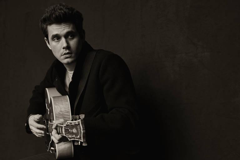 O cantor americano John Mayer faz show no Allianz Parque