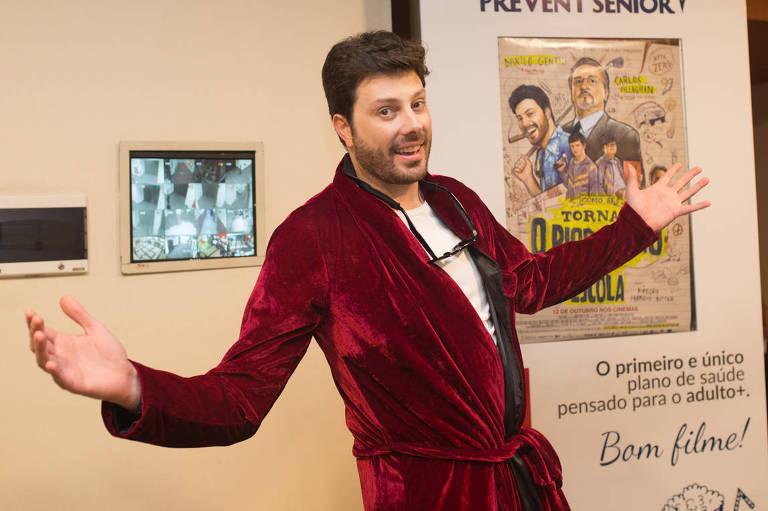 O apresentador Danilo Gentili