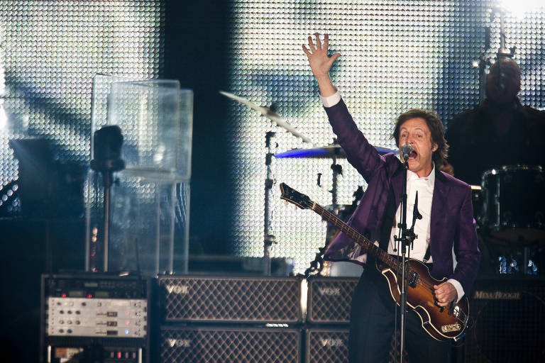 Paul Mccartney se apresenta no Allianz Parque neste domingo