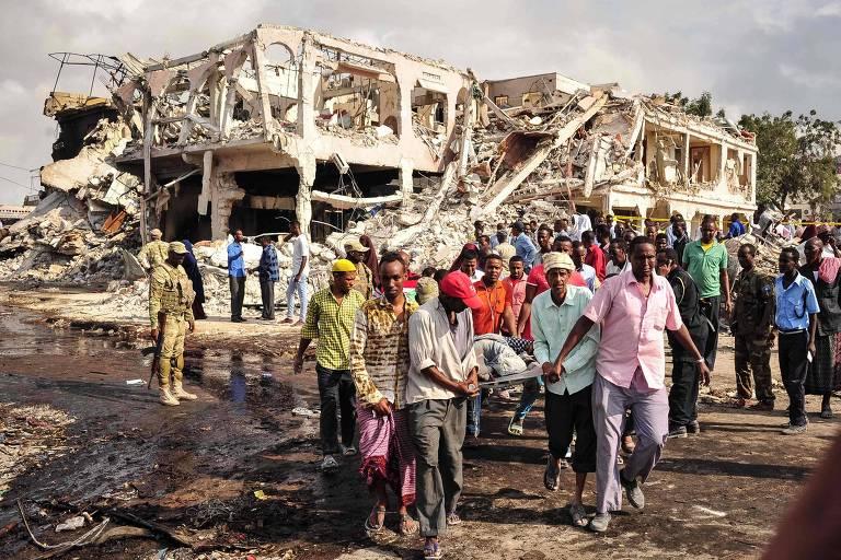 Atentado duplo na Somália