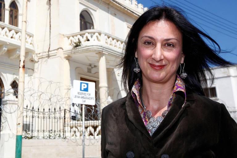 A jornalista maltesa Daphne Caruana Galizia