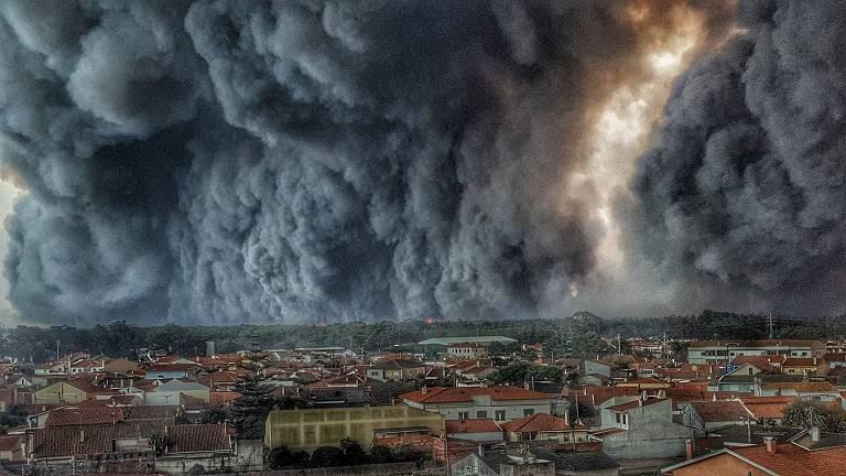 Incêndio Europa