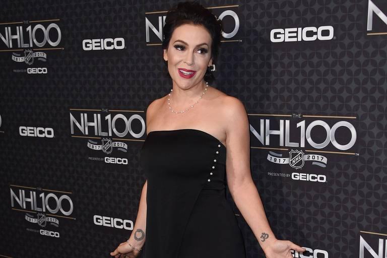 Alyssa Milano convidou mulheres a relatarem casos de abuso sexual usando a hashtag #MeToo no Twitter