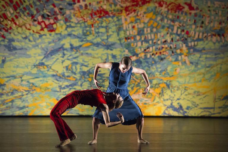 Cena do espetáculo 'On the Other Side', da companhia Los Angeles Dance Project, dirigida por Benjamin Millepied