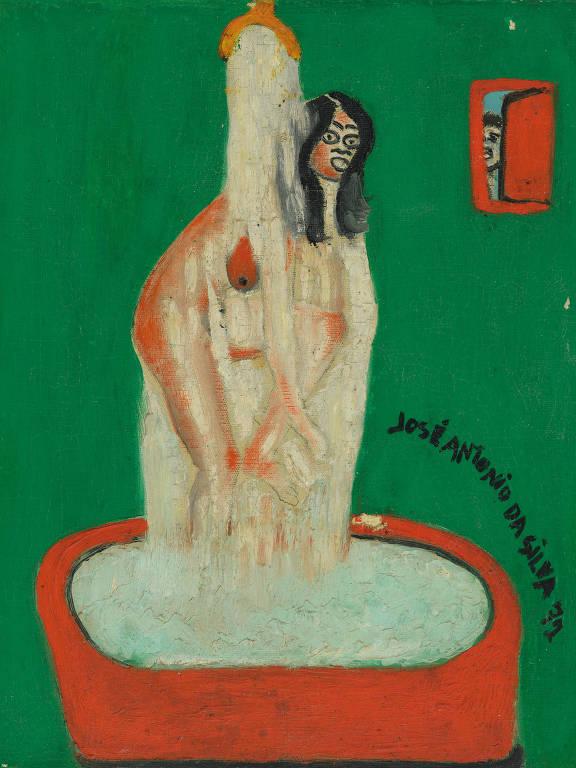 Obra sem título do artista José Antonio da Silva, de 1971