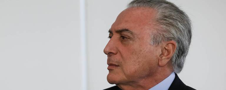 Michel Temer – Beto Barata/PR