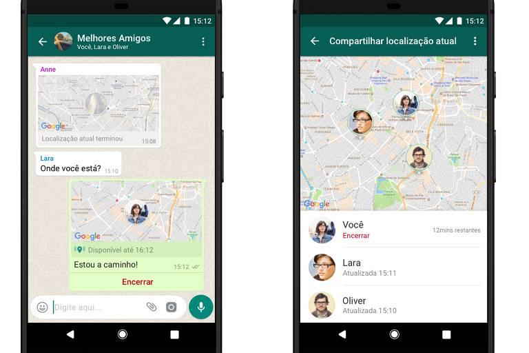 localização celular whatsapp