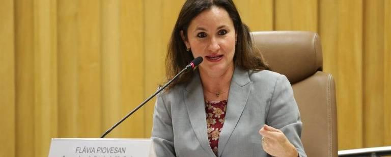 A Secretária Nacional de Cidadania, Flávia Piovesan – Paulo Pinto/CBJ