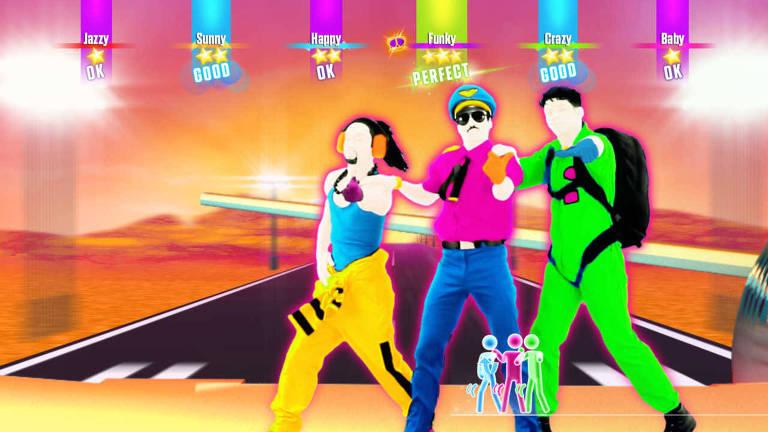 Imagem do jogo Just Dance 2017