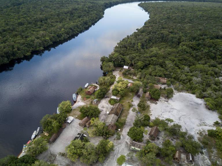 Comunidade em São Gabriel da Cachoeira, no Amazonas