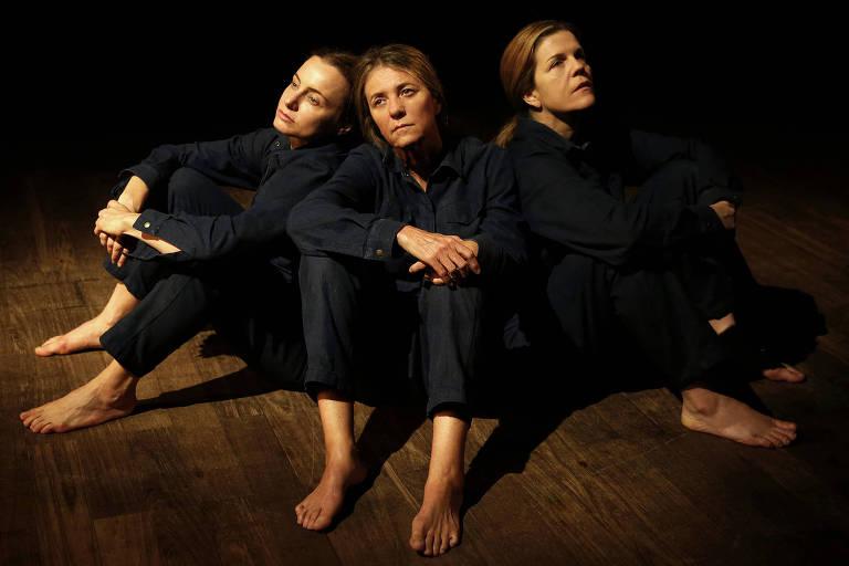 As atrizes Carolyna Aguiar, Luisa Thiré e Priscilla Rozenbaum dão voz às mulheres que atuaram na 2ª Guerra