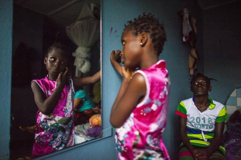 Catarata em Serra Leoa