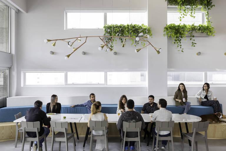 Luz natural em escritórios