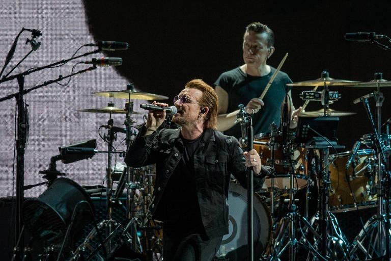 Show da banda irlandesa U2, no estádio do Morumbi, em São Paulo em outubro de 2017