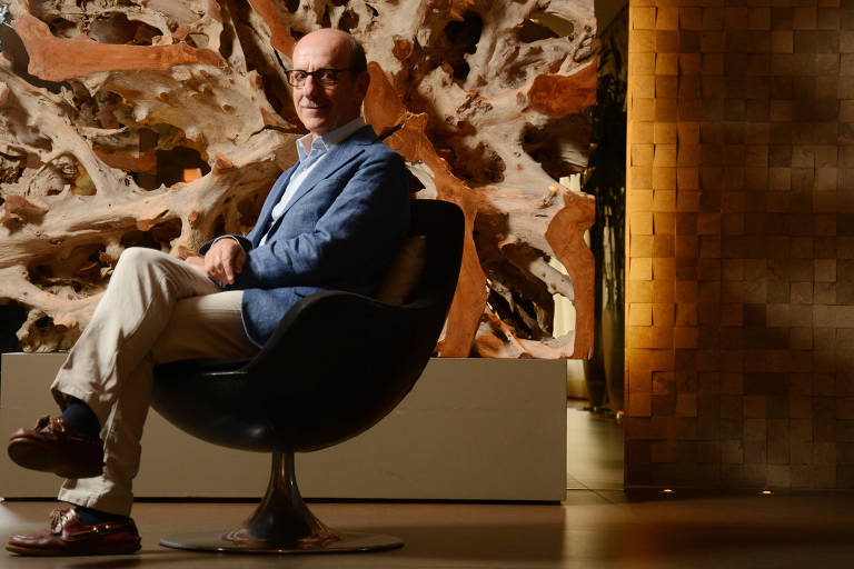 O m�dico e pesquisador italiano Marco Bobbio, que defende o 'slow medicine