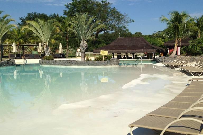 Área do Rio Quente Resorts, em Goiás