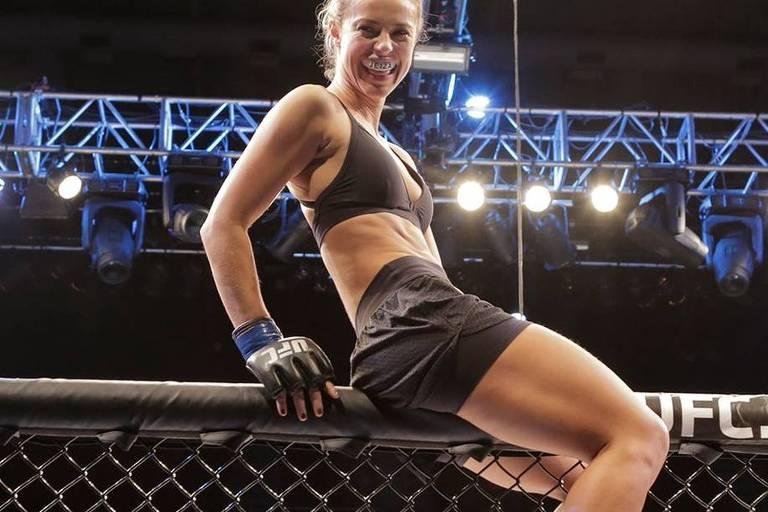 Paolla Oliveira interpretou a policial e lutadora de MMA Jeiza, em 'A Força do Querer'