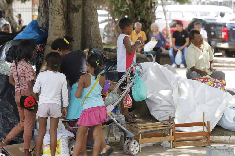 Índios venezuelanos no Pará