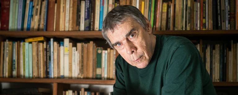 Retrato do escritor Sergio Sant'Anna Raquel Cunha/Folhapress