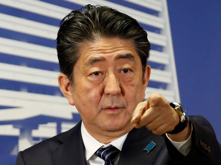 Shinzo Abe, primeiro-ministro do Japão – Toru Hanai/Reuters