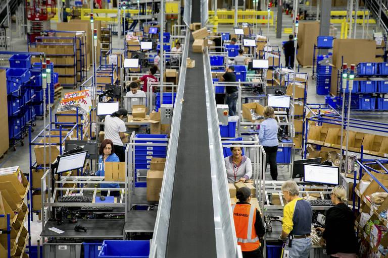 Comércio online gera empregos nos EUA