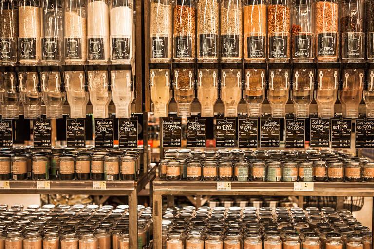 Aumenta oferta de produtos a granel