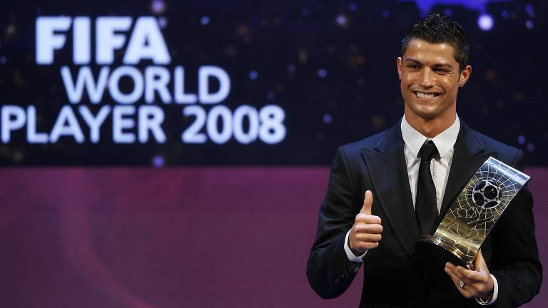 As cinco conquistas de Cristiano Ronaldo