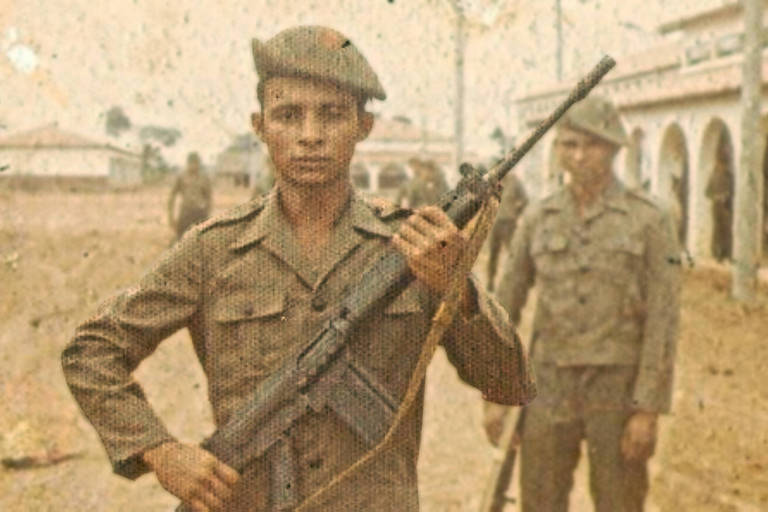 Cena do filme 'Soldados do Araguaia'