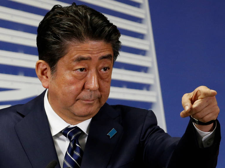 Shinzo Abe, premiê do Japão – Toru Hanai/Reuters