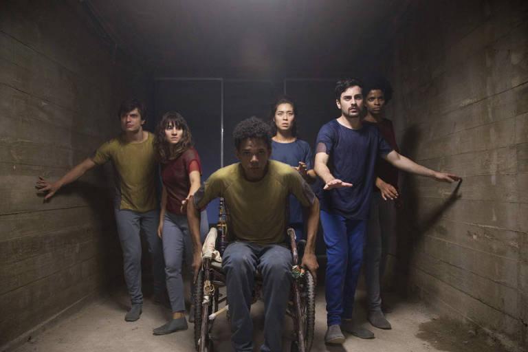 """Personagens da série """"3%"""", da Netflix"""