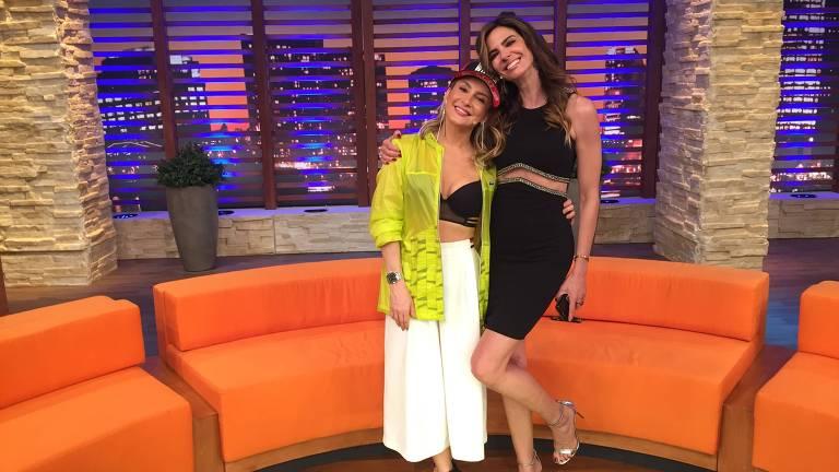 """Claudia Leitte é a convidada desta terça (24) do """"Luciana By Night"""", da Luciana Gimenez, na RedeTV!"""