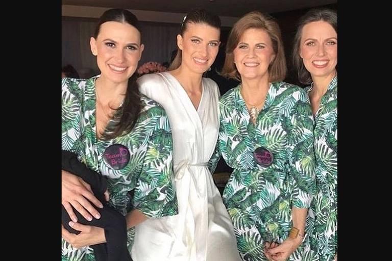 Looks dos famosos para o casamento da Michelle Alves e Guy Oseary