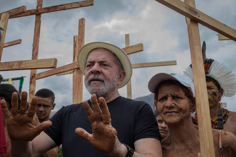 Caravana de Lula em Minas