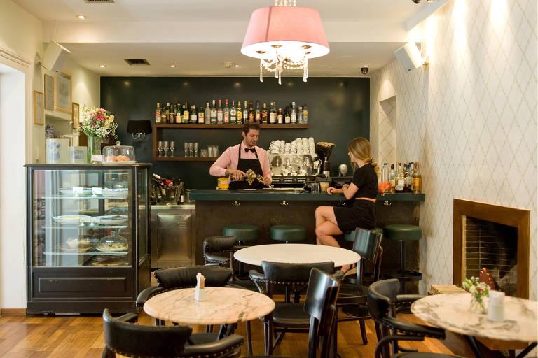 Amaryllis Cafe, no bairro de Kifissia