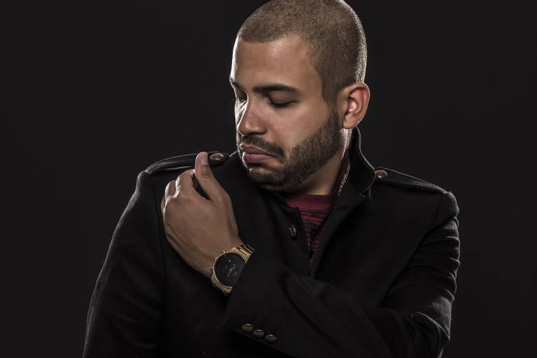 O rapper Projota faz show no Citibank Hall