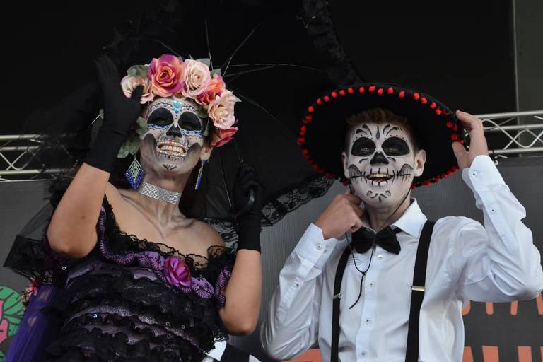 Festa de Dia dos Mortos no Memorial da América Latina - 2017