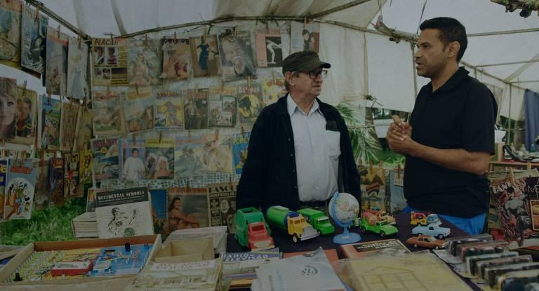 Cena do documentário 'Cartas Para um Ladrão de Livros'