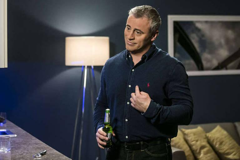 O ator Matt LeBlanc no primeiro episódio da quinta e última temporada de 'Episodes'